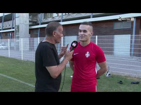 Interview de Karim MERABET Attaquant de l'Olympique de Valence