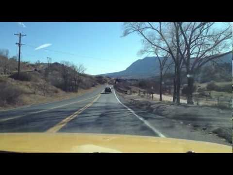 Drive Through Colorado Springs, Garden of the Gods and Manitou Springs