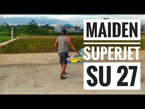 Maiden Rc Plane Super Jet SU 27 (HomeMade)