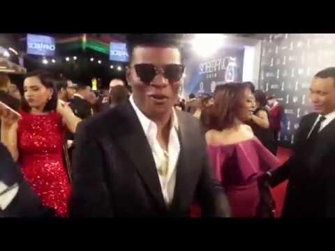 Diddy Glow en La Alfombra Roja de Los Premios Soberano 2018