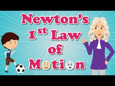 Newton's First Law Of Motion | #aumsum #kids #education #science #newton