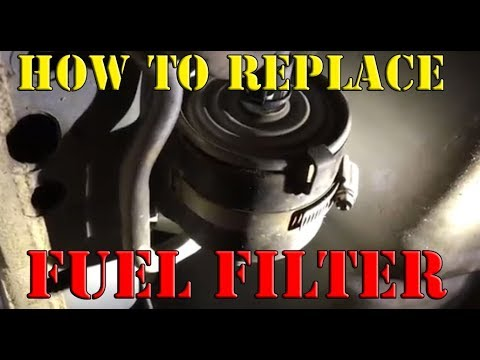How to Replace a Fuel Filter – Lincoln Continental