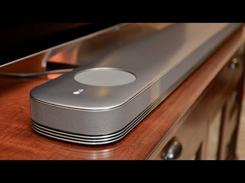 LG Dolby Atmos Soundbar: Ultimate Home Theater Sound - YouTube