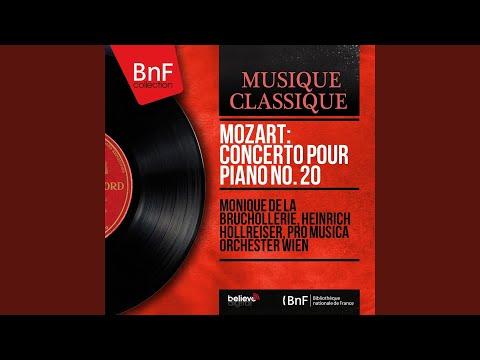 Concerto pour piano No. 20 in D Minor, K. 466: I. Allegro
