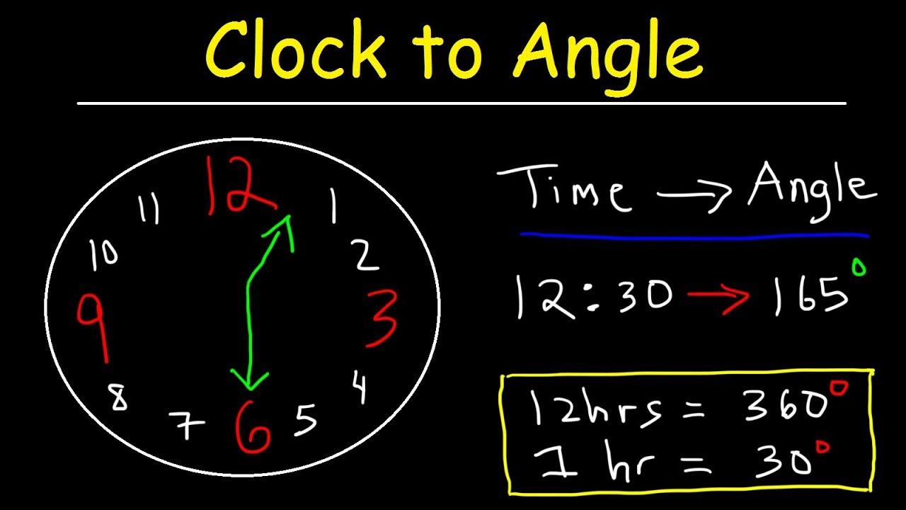 Clock Aptitude Reasoning Tricks Amp Problems Finding Angle