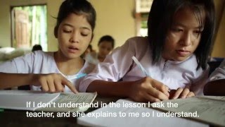 Providing education for ethnic minorities in Myanmar