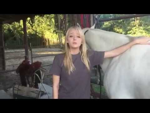 How To Prepare A Horse For Riding - Ft. Jessica Lucas