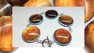 Polymer clay Cabochons (Fimo liquid)- Tutorial