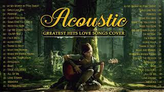 Greatest Hits English Acoustic Love Songs 2021 -Ballad Guitar Acoustic Cover Of Popular Songs