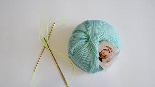 oKsa Style: вязание французского реглана Anetti. Контрольный образец