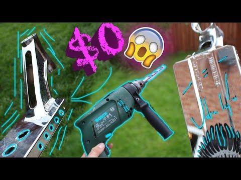 $0 SCOOTER HACK ! * LIGHTEST SCOOTER DECK *