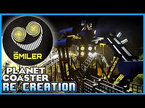THE SMILER!! Re-creation! Coaster Spotlight 37 #PlanetCoaster