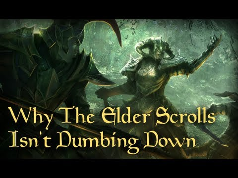 Why The Elder Scrolls Isn't Dumbing Down