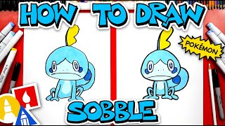 How To Draw Sobble Pokmon From Sword And Shield