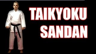 Taikyoku Sandan, First Cause, Third Level Kata