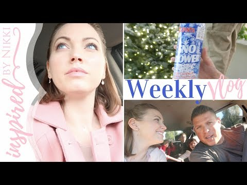 Last Weekly Vlog of 2017 | Words of Life, Decorating & Dating