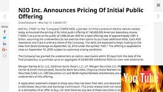 Stocks to buy: NIO Inc. (NYSE: NIO)