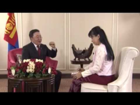 Exclusive interview with President of Mongolia