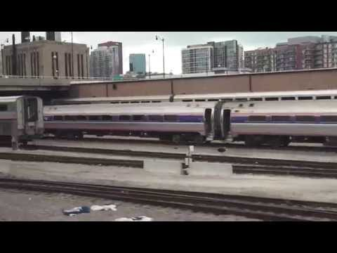 4K Amtrak Capitol Limited  and Empire Builder - PHL to SEA 2014 editied...