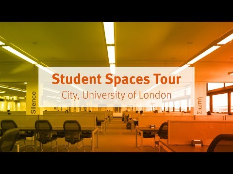 City, University Of London: Student Spaces Tour