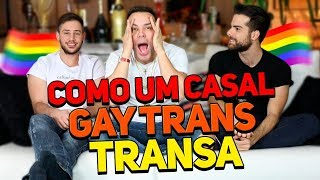 Casal gay fazendo sexo