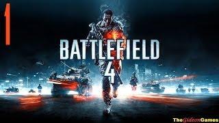 Прохождение Battlefield 4 на Русском [HD PC] - Часть 1 (Не хочу умирать под эту песню) 18+