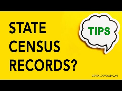 Genealogy Gold Tip #25 | State Census Records