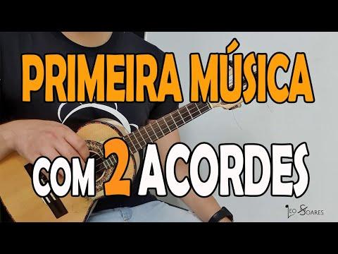 PRIMEIRA MÚSICA COM 2 ACORDES NO CAVAQUINHO - AULA DE CAVACO PARA INICIANTES