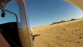 Flying Over the Namib Desert - How a Scenic Flight Should be Done.