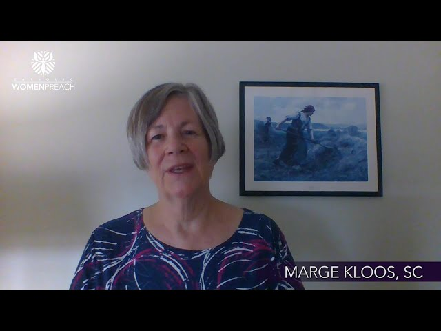 Marge Kloos, SC Preaches for the Twenty-Sixth Sunday in Ordinary Time
