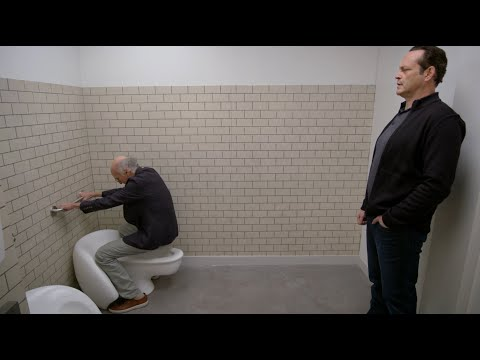 Larry David Reinvents The Bathroom!! | Curb Your Enthusiasm