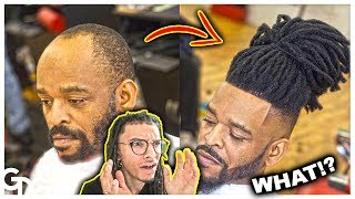 Reacting To Man Weave Dreadlocks