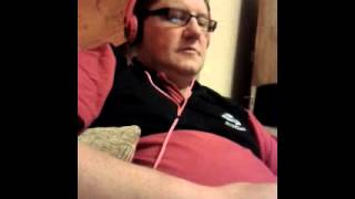 My dad singing candy (robbie williams)