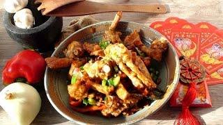 辣椒螃蟹 沙茶醬炒螃蟹 Chili Crabs | Stir Fried Crabs with Spicy BBQ Sauce - JosephineRecipes.co.uk