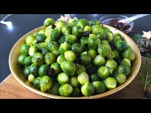 Slow Cooker Brussel Sprouts | Christmas Sprouts Recipe
