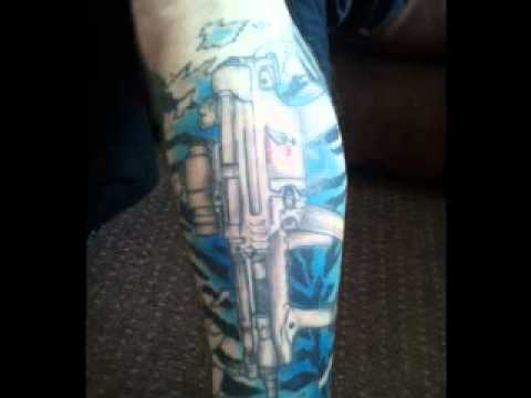 Call of duty zombies tattoo