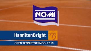 Hamilton Bright Open 2019 in Sneek (sfeerimpressie)