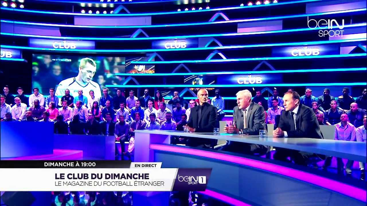 le club du dimanche tous les dimanches sur bein sport youtube. Black Bedroom Furniture Sets. Home Design Ideas