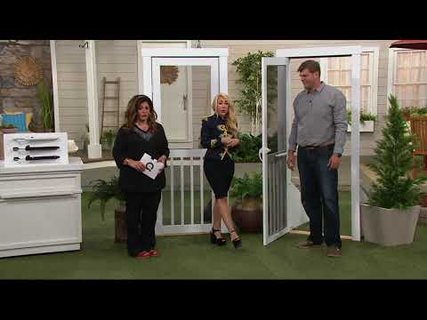 Touch N' Hold EZ Glide Door Closer by Lori Greiner on QVC