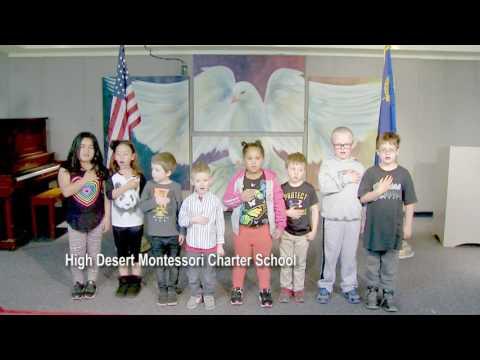 One Nevada Morning Pledge - High Desert Montessori Charter School Group 2