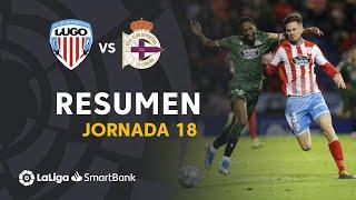 Resumen De CD Lugo Vs RC Deportivo 0 0