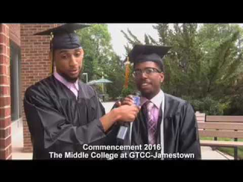Congratulations Graduates from The Middle College at GTCC-Jamestown
