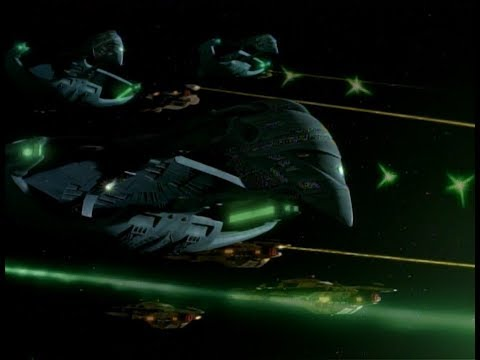 Romulan and Cardassian fleets attack the Dominion