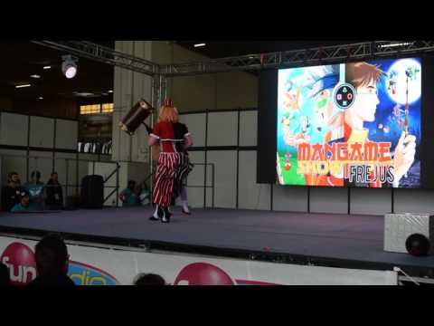 related image - Mangame Show Winter 2017 - Concours Cosplay - 06 - Lady The Joker - Harley Quinn