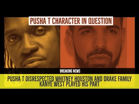 Pusha T CHARACTER IN QUESTION after Whitney Houston Photo and Topics on Drake Diss 'Story of Adidon'