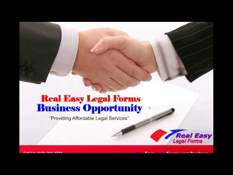 Real Easy Legal Forms Business Presentation
