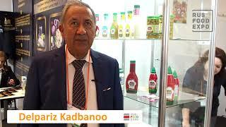 Смотреть видео KADBANOO (DELPAZIR) на выставке Interfood St.Petersburg 17-19.04, Санкт-Петербург онлайн