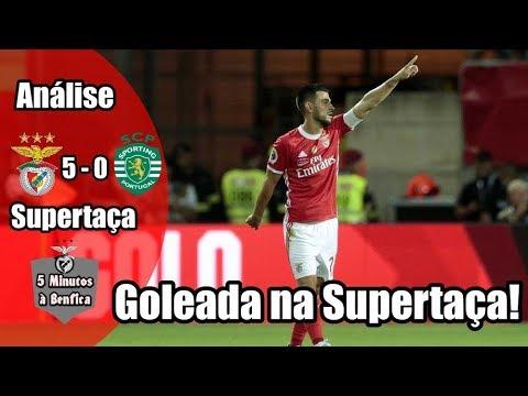Supertaça 2019-2020 || Benfica 5-0 Sporting (Análise)