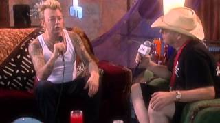 Brian Setzer - Interview - 7/24/1999 - Woodstock 99 East Stage (Official)