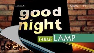 Dsign - DIY - Good Night Table Lamp